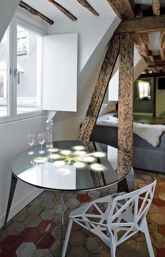 Renovierung einer pariserischen MaisonetteWohnung aus dem spten 18Jh  fresHouse
