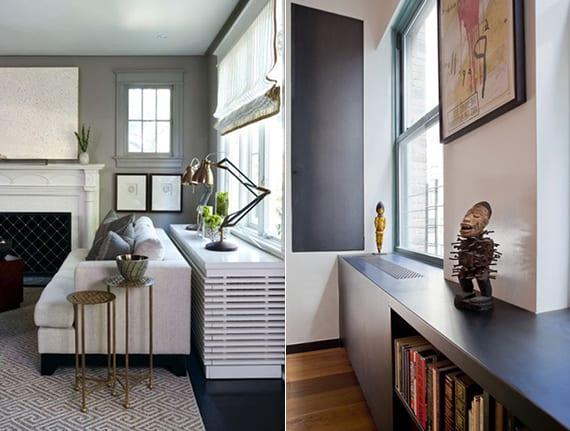 Heizkrperverkleidung die kreative Gestaltung zustzlicher Sitz und Abstellflche  fresHouse