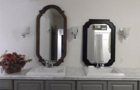 best mirror design for bathroom