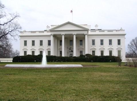exterior white house design