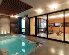 luxury gym interior