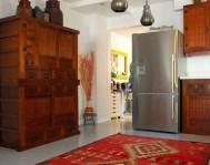 design for rug red