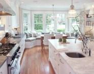 white kitchen concept