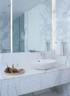 Sumptuous Marble Bathroom Design Photos 15