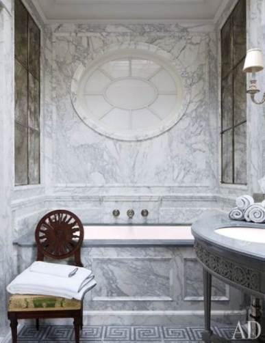 Sumptuous Marble Bathroom Design Photos 42