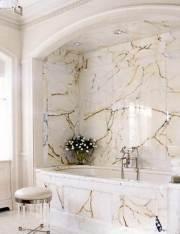 Sumptuous Marble Bathroom Design Photos 45