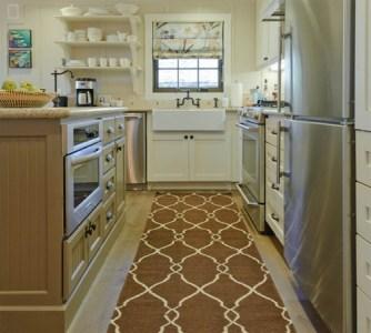 Kitchen rugs with modern pattern