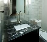 Interior bathroom with sink