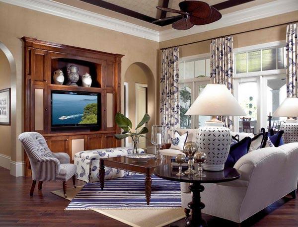 living room blue decorating ideas the boynton beach menu design in traditional tropical style ...