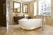 Minimalist modern bathroom design that looks luxury, charming, and beautiful-1