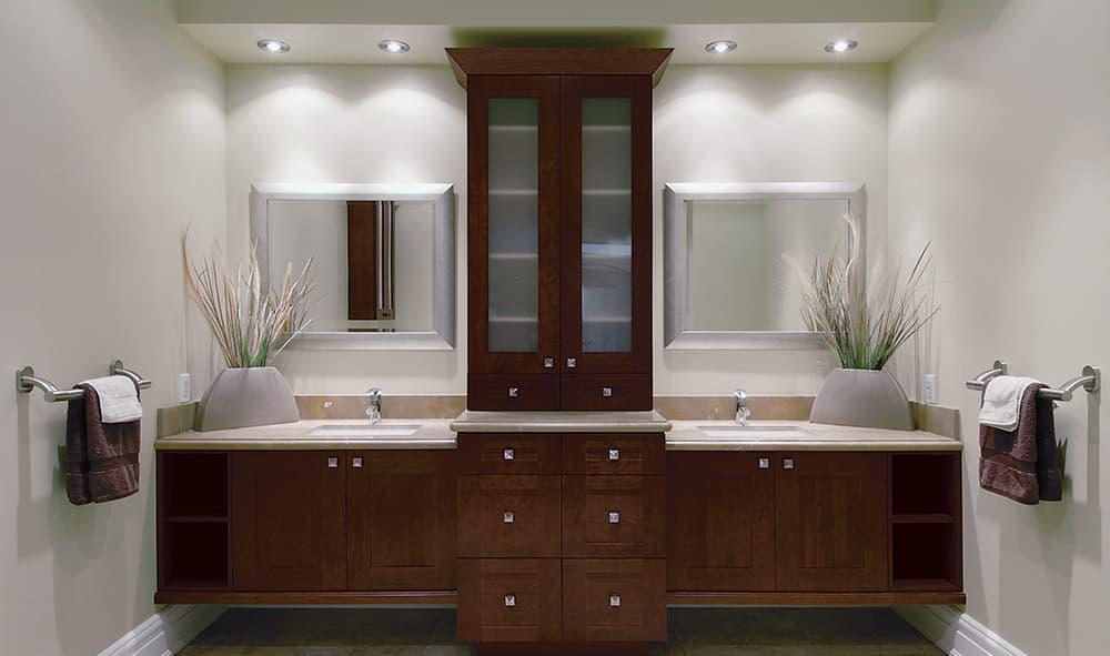 37 Wonderful Bathroom Cabinet Ideas  FresHOUZcom