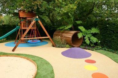 Beautiful Backyards And Playground Design
