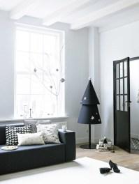 Black And White Minimal Holiday Decor