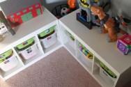 Corner Toy Storage Design
