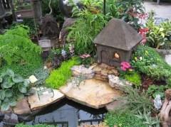 Fairy Garden With River