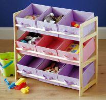 Lilac Toy Storage Unit