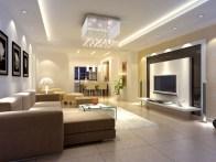 Modern Living Room Ligthing