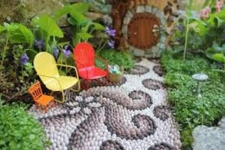 Pretty Fairy Garden