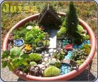 Unique Fairy Garden