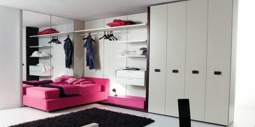 Bedroom Wardrobe Updressing Pink Bedstead Girls Bedroom Alluring With Stuart: Cool And Modern Wardrobe With Refined Door Design
