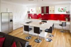 Make The Kitchen Backsplash More Beautiful Inspirationseek Intended For Black, White And Red Kitchen Design