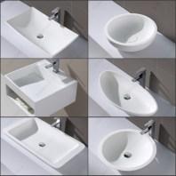Round Circular Wash Basin,parryware Wash Basin,single Washplane Within Unique Round Wash Basin Design By Agape