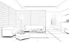 Admec Livingroom Sketch