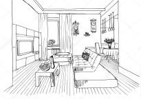 Szkic Graficzny Architecture Sketch