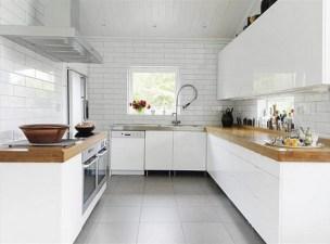 Adorable Minimal Super Stylish White Kitchen Intended For Minimal White Kitchen
