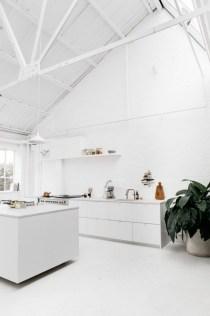 Awesome Minimal Super Stylish White Kitchen With Regard To Minimal Super Stylish White Kitchen