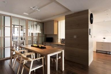 Charming Minimalist Modern Dining Room Throughout Minimalist Modern Table