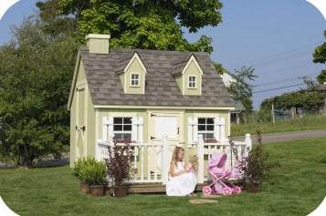 Children's Playhouse Plans With Unique Child Playhouse