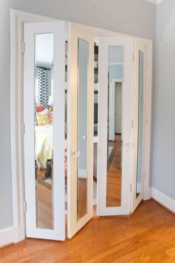 How To Diy Closet Door With Folding Hooks Inspirations