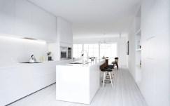 Contemporary Modern White Kitchen Intended For Minimal Super Stylish White Kitchen
