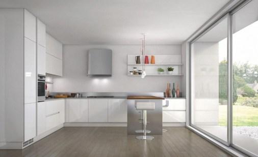 Contemporary White Kitchens Ideas For Minimal White Kitchen