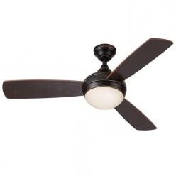 Dark Ceiling Fan With Light For Powerful Ceiling Fan