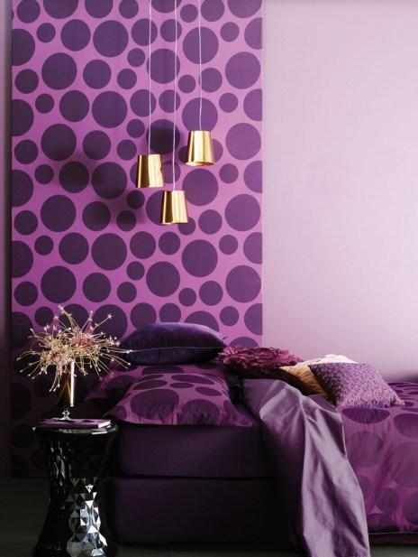 Interior Designing On Pinterest Modern Violet Wall Inside Violet Interior Design