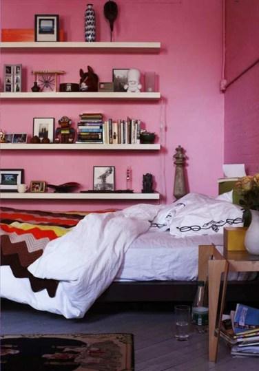 Minimalist Pink Bedrooms Ideas For Pink Bedrooms
