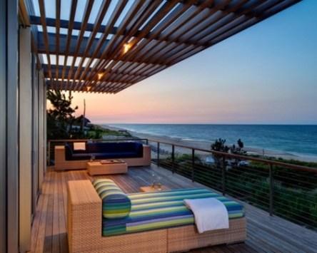 Modern Balcony Design Ideas, Remodels & Photos On The Beach Throughout Modern Balcony Design