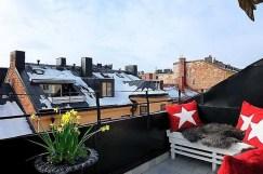 Modern Balcony Design On The Roof In Modern Balcony Design