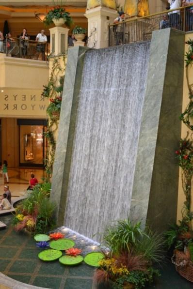 Stunning Indoor Waterfall Pertaining To Indoor Waterfall