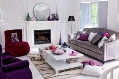 Violet Interior Design Trends For 2017 With Regard To Violet Interior Design