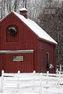 Beautiful Rustic Red Barn