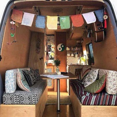 Interior Design Ideas For Camper Van No 50