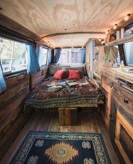 Interior Design Ideas For Camper Van No 59