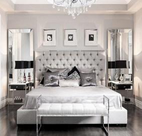 Glamorous Bedroom Decor Via @stallonemedia | Bedroom Design Ideas Intended For The Best & Stunning Glamour Bedroom Design