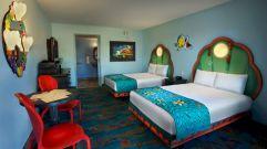 Art Of Animation Resort Little Mermaid Room