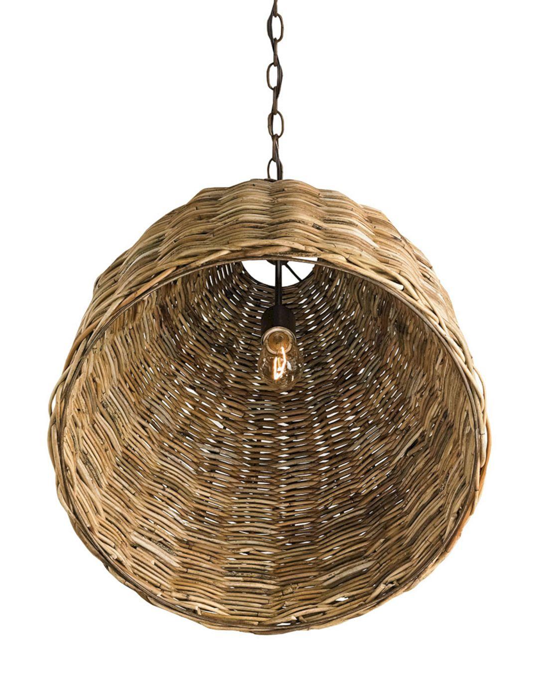 Basket Pendant Light Fixture (Basket Pendant Light Fixture