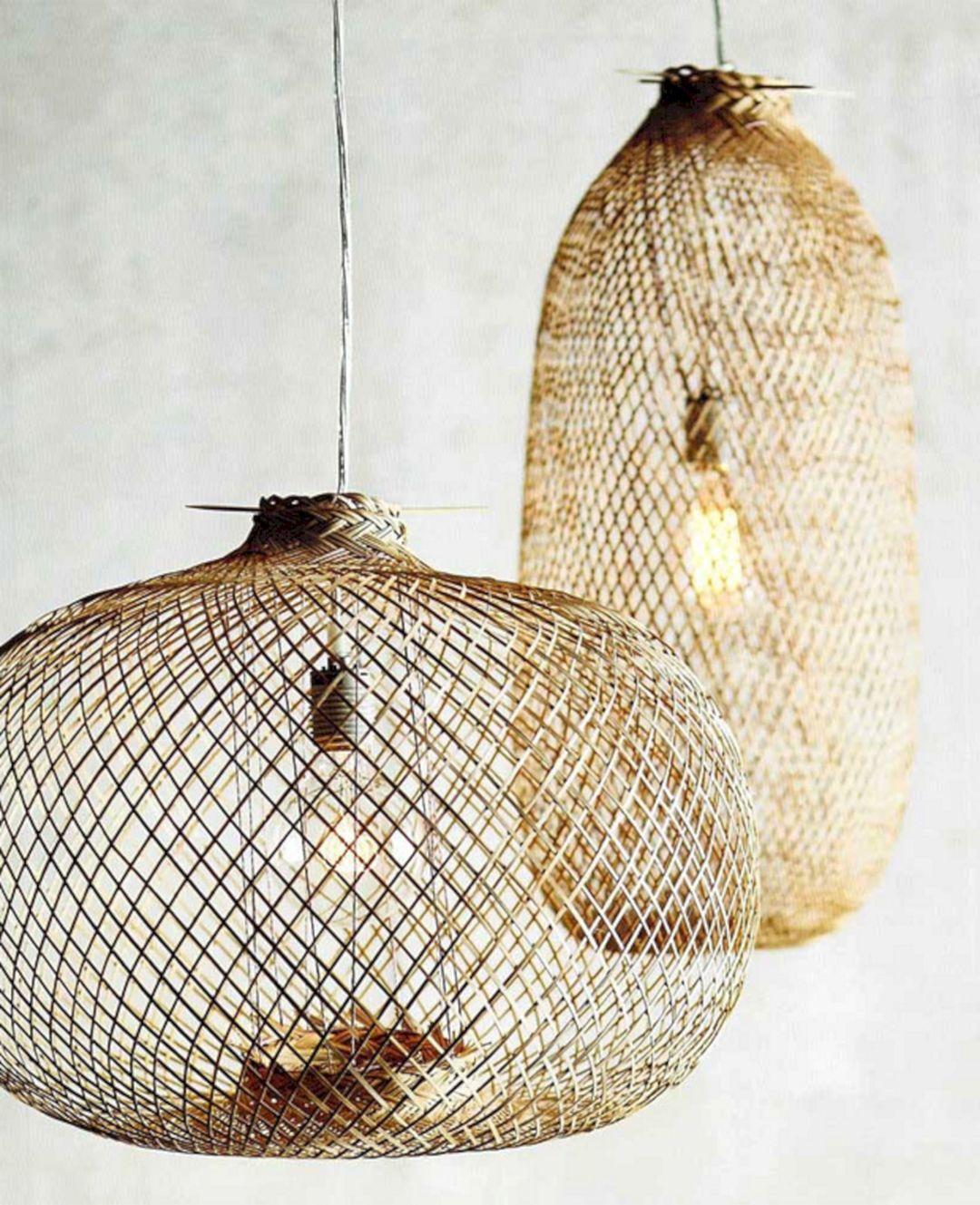 Basket Of Lamp Pendant Light Fixture (Basket Of Lamp