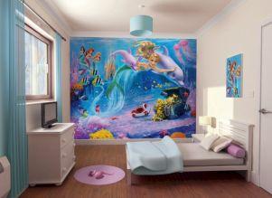 Bedroom Wall Murals Mermaids